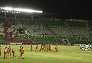 Los estadios esperan por el retorno del fútbol profesional. Foto: APG Noticias