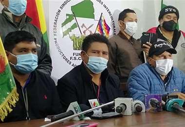 La dirigencia del sector acusó de latifundista a los empresarios/Foto: JC Torrejón