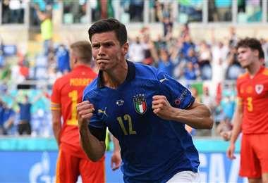 Italia ganó sus tres partidos en primera fase y no le hicieron ni un gol. Foto: AFP