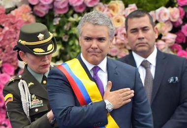 Iván Duque, presidente de Colombia. Foto. Internet