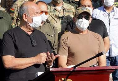 Los exministros Arturo Murillo y Luis Fernando López están acusados