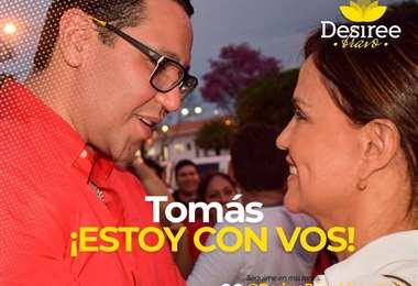Tomás Monasterio y Desirée Bravo llevan varios años de una sólida relación
