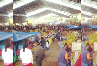 Vallegrande pedirá certificado de vacunación para comerciantes del mercado