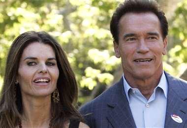 Maria Shriver y Arnold Schwarzenegger, cuando todavía estaban casados
