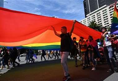 Marcha contra la homofobia en México