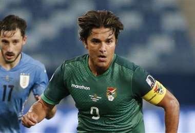 Martins debutó en esta Copa América ante Uruguay. Ingresó a los 61'. Foto: AFP