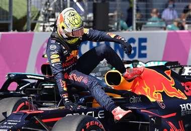 Max Verstappen buscará una nueva victoria en su Red Bull. Foto: AFP