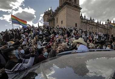 Pedro Castillo participó este viernes en un cónclave de gobernadores en Cusco