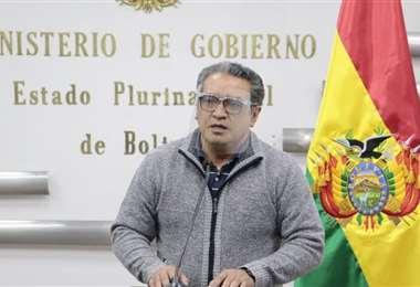 El viceministro informó que se enviaron más policías a la zona/Foto: MG