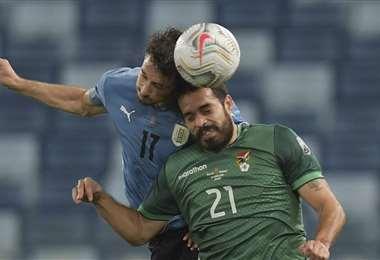 Bolivia viene de perder frente a Uruguay por 0-2, el jueves. Foto: AFP