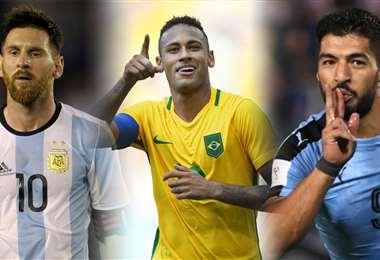 Messi, Neymar y Suárez son los llamados a brillar en el torneo. Foto: Internet