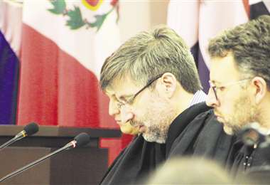 Los jueces de la Corte deliberaron en reserva