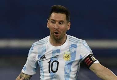 Lionel Messi será titular frente a Bolivia en Cuiabá. Foto: AFP