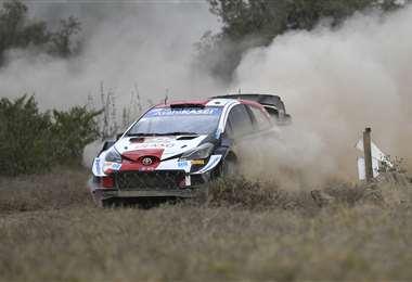 Ogier lidera el Campeonato Mundial de Rally (WRC). Foto: AFP