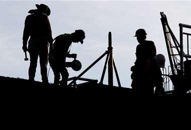 La construcción, un sector medular para impulsar la economía (Foto: EL DEBER)