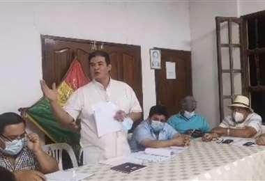 Ruddy Dorado, alcalde de San Ignacio de Velasco, actuará con ley por avasallamientos