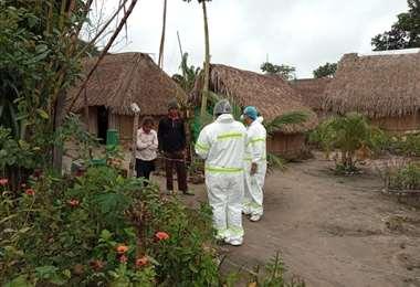 Se completó el rastrillaje sanitario en Yapacaní.