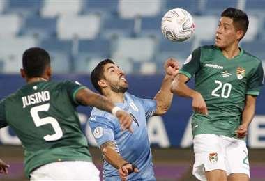 Bolivia llega al choque con Argentina luego de tres derrotas seguidas. Foto: AFP