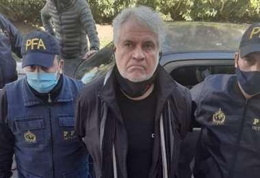 Walter Klug Rivera fue detenido en Argentina