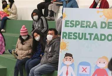 Avanza la campaña de vacunación masiva. 18.798 dosis aplicadas hoy. Foto: JC Torrejón