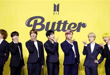 "BTS sigue en la cresta de la ola, gracias a  ""Butter"""
