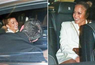 El domingo, la pareja cenó en el restaurante Avra en Beverly Hills