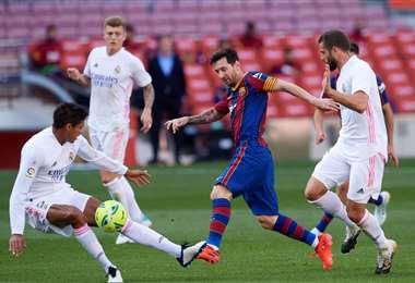 Barcelona-Real Madrid, uno de los partidos más esperados en el mundo. Foto: Internet