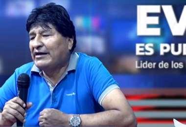 Evo Morales adelantó que habrá un libro donde revelará las negociaciones que hizo