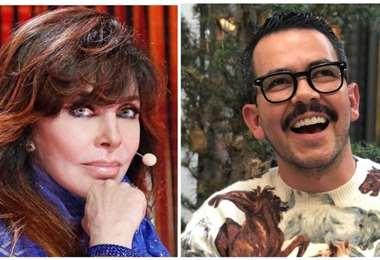 Verónica Castro y Manolo Caro enfrentados