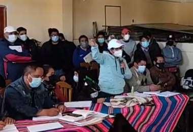 La Alcaldesa se reunió con los dirigentes vecinales del distrito 8 de El Alto