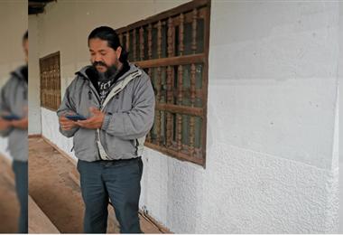 Subalcalde de Ascensión de la Frontera, Milko Rocha. Foto JP Cahuana