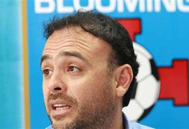 La gestión de Juan Jordán en Blooming concluyó el 15 de mayo. Foto: El Deber