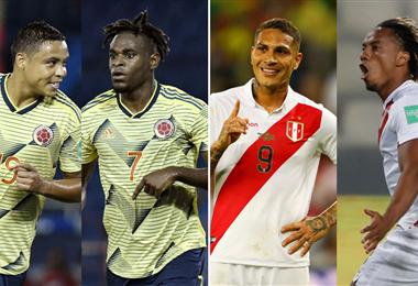 Perú y Colombia se medirán este jueves en Lima. Foto: internet