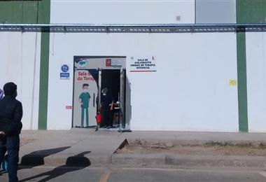 Personal de salud de Tarija en emergencia por falta de pago. Foto. David Maygua