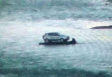 El vehículo fue requisado por las autoridades argentinas