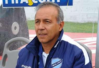 Vladimir Soria, entrenador interino de Bolívar. Foto: internet