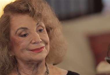 Delia Fiallo en una forografía de archivo