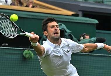 Djokovic avanzó a la tercera ronda tras su victoria ante Anderson. Foto: AFP