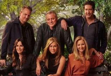 El reencuentro de Friends está disponible en la plataforma