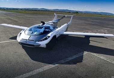 El AirCar Prototipo 1 está equipado con un motor BMW