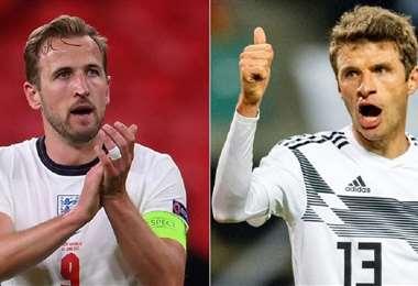 El partido Inglaterra-Alemania fue el más atractivo de la jornada. Foto: Internet