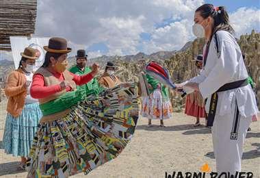La academia boliviana también trabaja en el empoderamiento de las mujeres