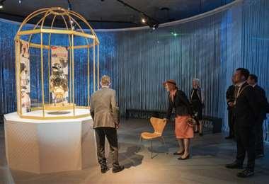 El museo fue inaugurado el miércoles por la reina de Dinamarca Margarita II