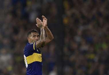Carlos Tévez se va de Boca Juniors. Foto: AFP