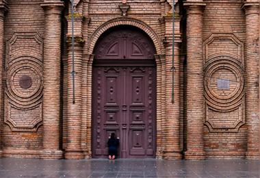 La imagen revela una historia de fe incondicional. Foto: J. Ibáñez