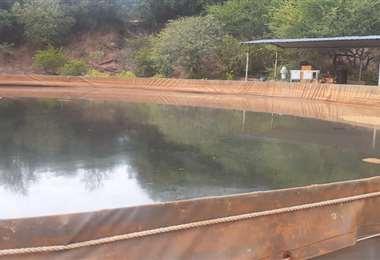 Los comunarios denuncian que la empresa genera contaminación