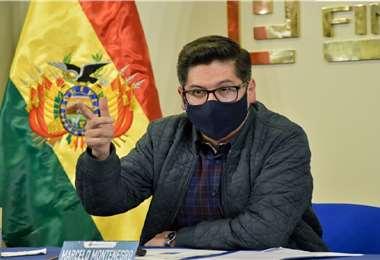 Montenegro cuestionó a las alcaldías comandadas por opositores al MAS