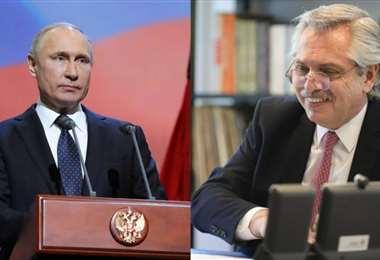 Fernández y Putin anuncian el inicio de producción de vacuna Sputnik V en Argentina