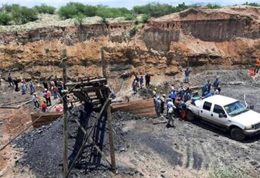 El accidente ocurrió en una mina de Coahuila. Foto. Internet