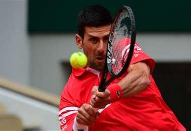 Novak Djokovic, número uno del mundo en el tenis. Foto: AFP